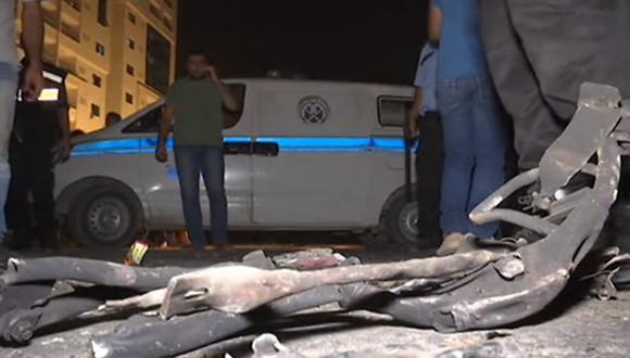 Testigos indicaron que las explosiones se debieron a atentados suicidas cometidos por hombres a bordo de motocicletas. (Foto: Captura de pantalla)