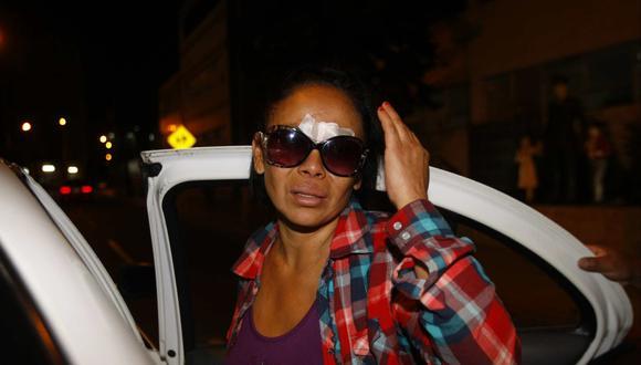 Martha Chuquipiondo se desplazaba hacia el colegio de su hijo cuando sufrió el accidente de tránsito. (Foto: J. Ángeles - Referencial)