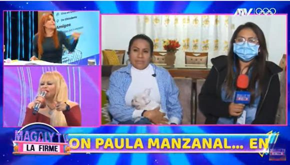 """Susy Díaz y su defensa a su expareja tras denuncia de agresión: """"¿Dónde están los moretones, el ojo morado, la cara desfigurada?"""