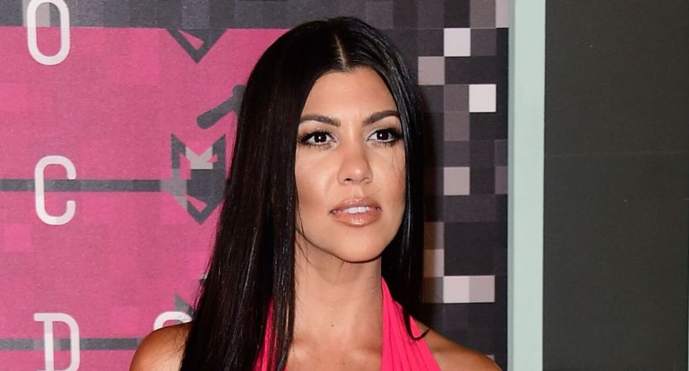 Kourtney Kardashian compartió las fotos en Instagram. (AFP)