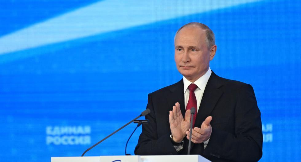 Vladimir Putin, presidente de Rusia. EFE