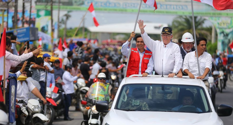 """PPK en Iquitos: """"Vamos a seguir con fuerza con nuestra revolución social"""". (Presidencia)"""