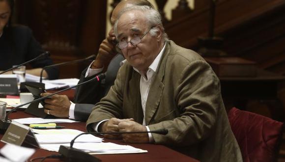 García Belaunde cuestionó a PPK. (Renzo Salazar/Perú21)