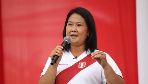 Keiko Fujimori indicó que firmará la Proclama Ciudadana con convicción. (Foto: Britanie Arroyo/@photo.gec)