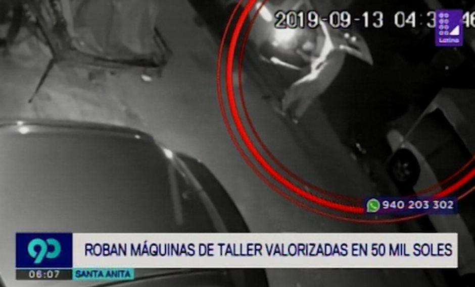 El hecho ocurrió el pasado viernes en la madrugada en la calle Cuzco, en el distrito de Santa Anita. (Latina)