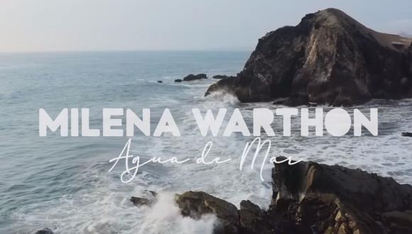 La canción de la joven cantautora obtuvo más de 30 mil reproducciones en solo un día, de acuerdo a datos de la plataforma de música. (Foto: Captura de video / YouTube)