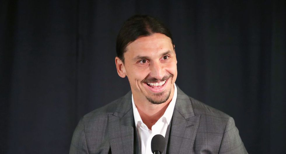 El mensaje de Zlatan Ibrahimovic que alborotó a la prensa española. (Foto: AFP)