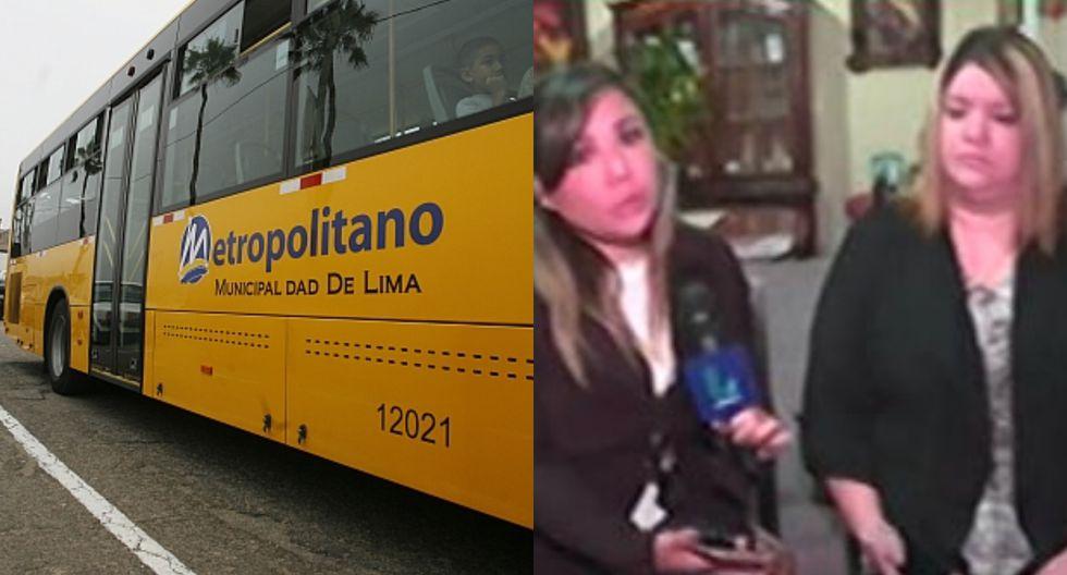 Accidente en el Metropolitano. (USI)