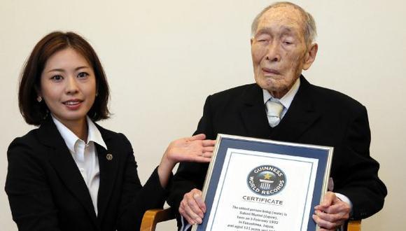 Momoi dijo que no hay un truco especial para la longevidad. (AFP)