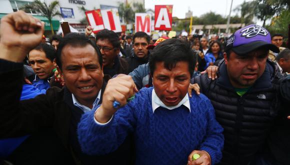 Huelga de maestros. (USI)