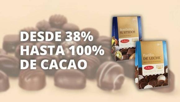 """La Ibérica aclara que desde hace 100 años ofrece """"100% chocolate""""."""