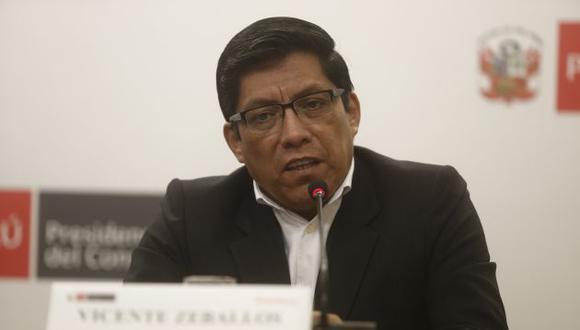 Ministro de Justicia defiende la propuesta de referéndum del presidente Martín Vizcarra. (Perú21)