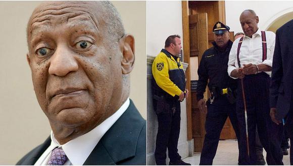 Bill Cosby enfrenta de 3 a 10 años de cárcel por agresión sexual. (Agencias)