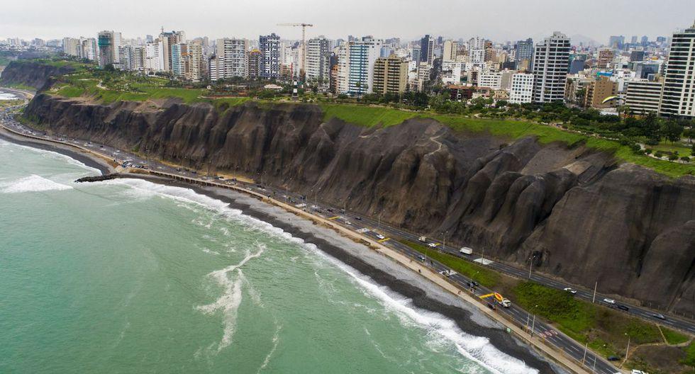 El municipio indicó que se estableció que la plataforma superior del acantilado es intangible en una franja de 120 metros de ancho a partir de la línea de borde. (Difusión)
