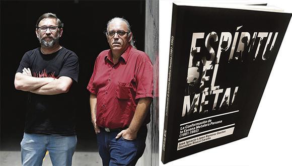 'Espíritu del metal', libro escrito por José Ignacio López Ramírez Gastón y Giuseppe Risica Carella. (Foto: Mario Zapata).