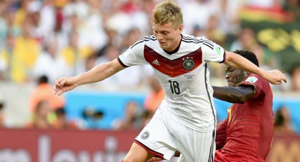 Kroos fue uno de los más destacados en Brasil 2014. (EFE)
