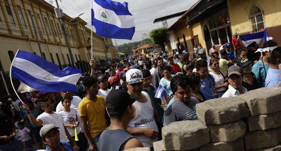 La crisis sociopolítica en Nicaragua que ha cobrado la vida de unas 309 personas. (Foto: EFE)