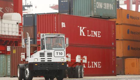 En verde. Se registraron más envíos que importaciones en octubre. (USI)