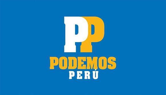 Podemos Perú tomó medida tras detención de uno de sus candidatos por pertenecer a red de Elías Cuba. (Foto: Twitter)