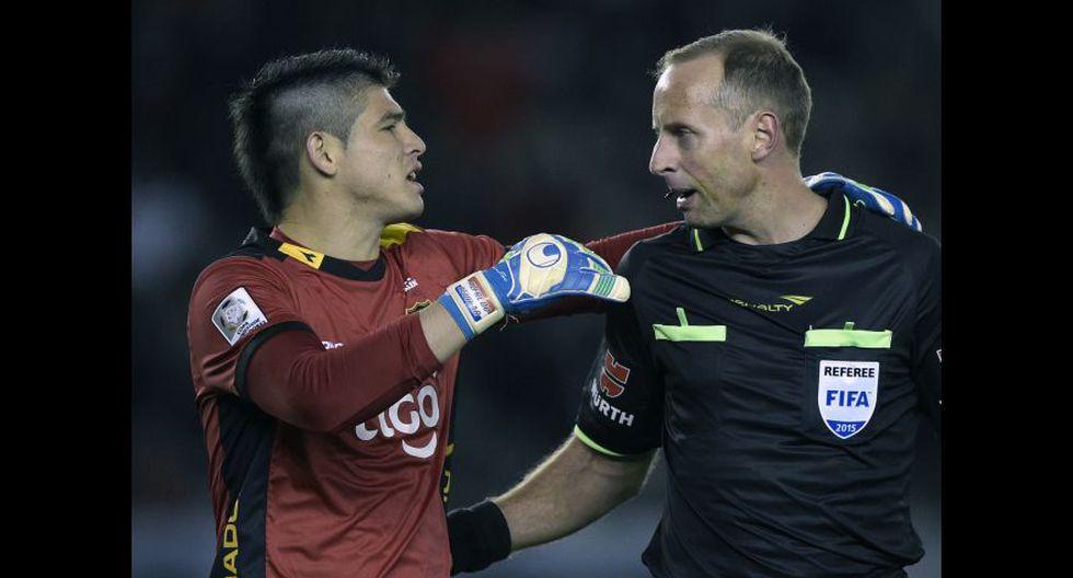 Alfredo Aguilar fue suplente y no jugó.(Foto: AFP)