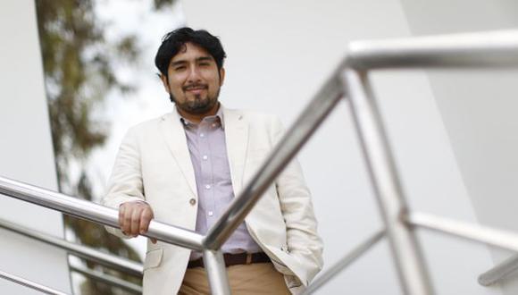 """""""Fuerza Popular y Peruanos Por el Kambio son dos caras de una misma moneda"""", dijo Meléndez. (Foto: Mario Zapata)"""