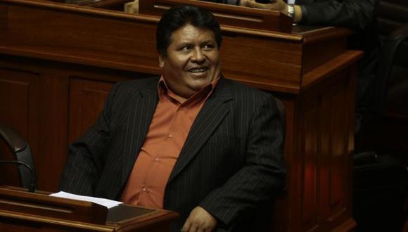 CONDENADO. Emiliano Apaza, uno de los posibles suspendidos. (Rafael Cornejo)