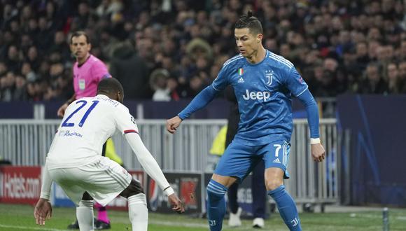 Juventus - Lyon. (AFP)