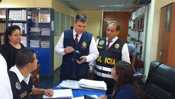 Equipo de la Fiscalía viene recabando información en torno a cuestionada ordenanza. (Zonia Custodio)