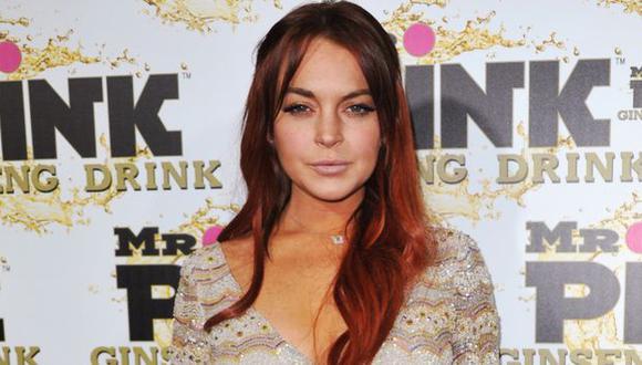 Lindsay Lohan en un evento de octubre de 2012. (AP)
