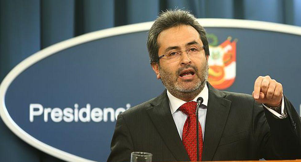 Juan Jiménez hizo un 'balance' del Gobierno de Alan García. (USI)