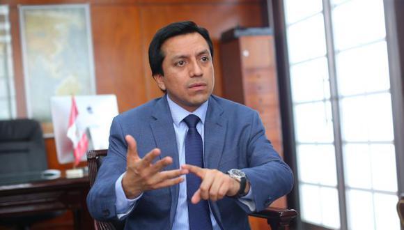 El congresista Gilbert Violeta señala que se debe respetar la decisión de la Corte IDH. (Perú21)