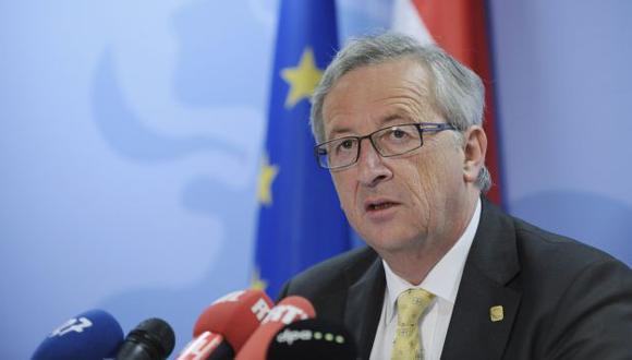 Jefe del Eurogrupo, Jean-Claude Juncker, anunció los acuerdos tomados por la Eurozona. (Reuters)