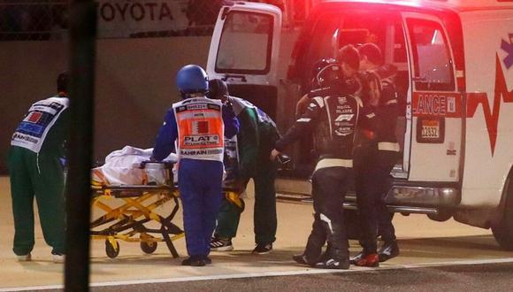 Romain Grosjean envía mensaje tras accidente en F-1 (Foto: Reuters)