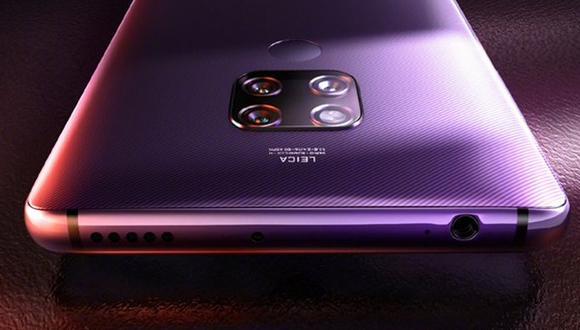 Así podrían ser los nuevos smartphone de Huawei, el Mate 30 Pro el cual llegaría con doble sensor de 40 megapíxeles y uno de 8 megapíxeles. (Foto: Huawei)