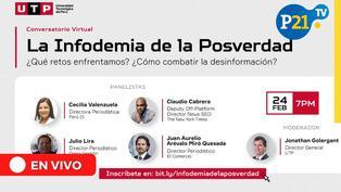 "Conversatorio ""Infodemia de la posverdad"""