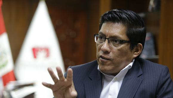 """""""El presidente tiene suficiente carácter para tomar una decisión aún siendo severa, si es que tiene que tomarla, tendrá que tomarla"""", señaló Zeballos. (Foto: GEC)"""