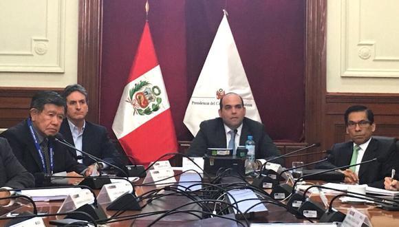 Se instaló el Consejo Directivo de la Autoridad para la Reconstrucción con Cambios. (Twitter de PCM)
