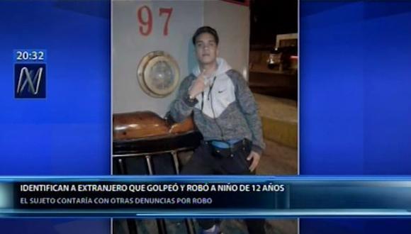 Alberto José Álvarez fue denunciado en noviembre del 2018 por robar a sus vecinos. (Canal N)