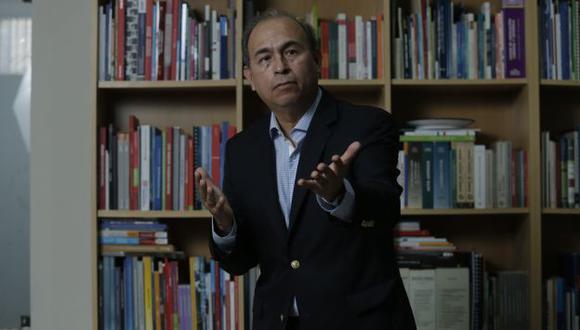 """""""El problema con las concesiones es que las personas que negocian los contratos no están pensando en el bienestar del usuario"""", dijo Crisólogo. (Piko Tamashiro/Perú21)"""