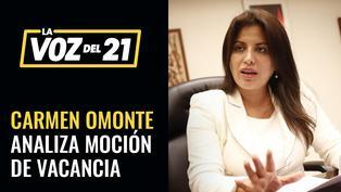 Carmen Omonte analiza el pedido de vacancia presidencial
