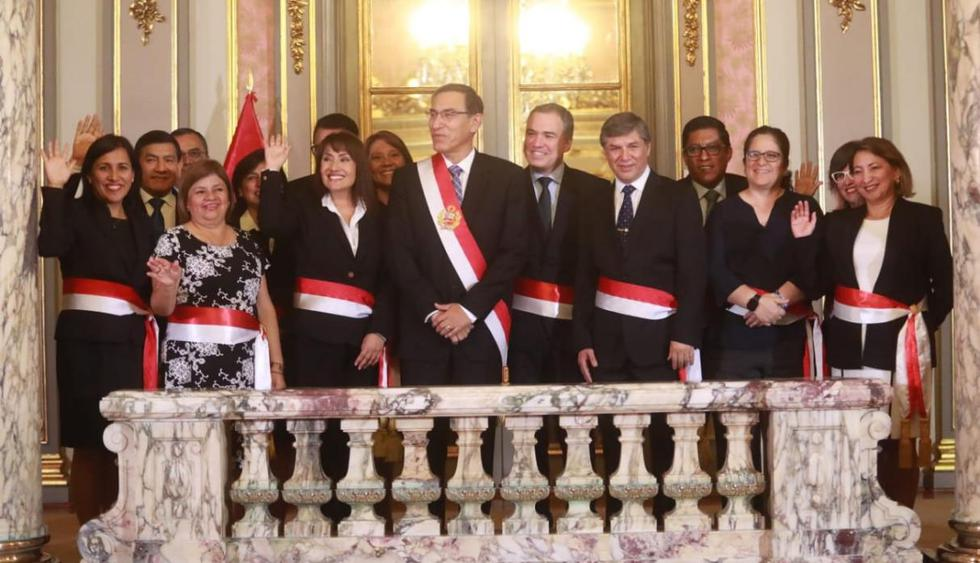 Por primera vez en la historia del Perú el Consejo de Ministros tiene más ministras mujeres. (Foto: GEC)