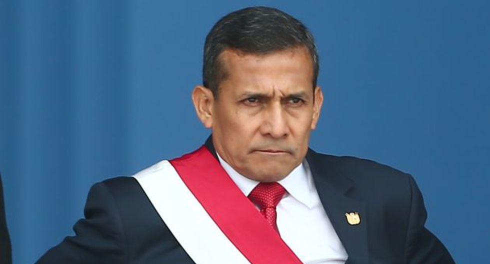 ¿Por qué a mí? Humala prefirió culpar a la prensa de sus problemas. (Rafael Cornejo)