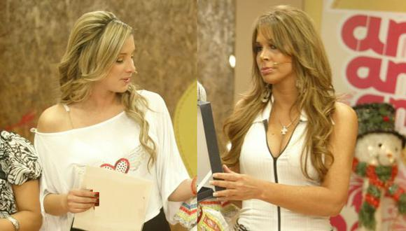 Sofía Franco tuvo un acalorado intercambio de palabras con Carla Barzotti. ( Trome)