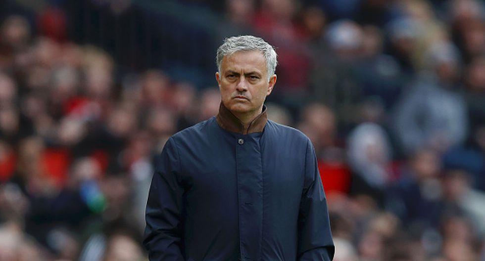 'Mou' no pudo ganar la Premier League con el Manchester United en esta temporada. (Getty Images)