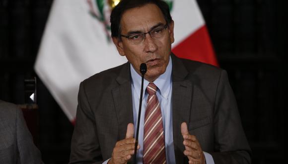 Explicó que no observó la Ley de la Contraloría porque antepuso a dos mil municipios que ejecutan obras antes que el Congreso. (Renzo Salazar)