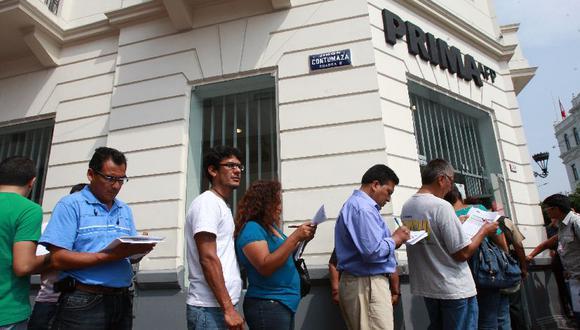 Encuesta de Ipsos abordó la reforma de pensiones que se impulsa en el Congreso (Andina).