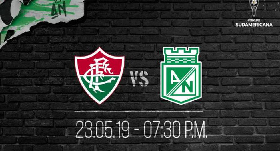 Atlético Nacional vs. Fluminense: chocan por la segunda fase de la Copa Sudamericana. (Foto: Atlético Nacional)