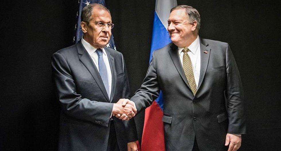 """Lavrov calificó su reunión con Pompeo de """"buena y constructiva"""". (Foto: EFE)"""