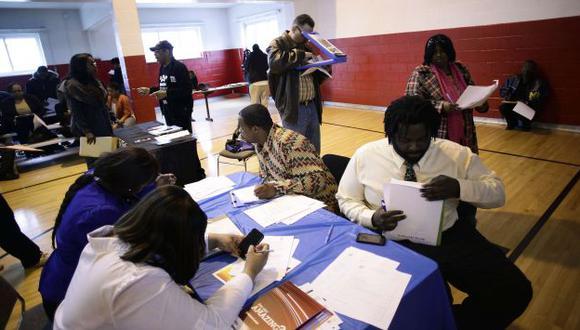 EEUU: Tasa de desempleo cae a 6,3%, su menor nivel en casi 6 años. (AFP)