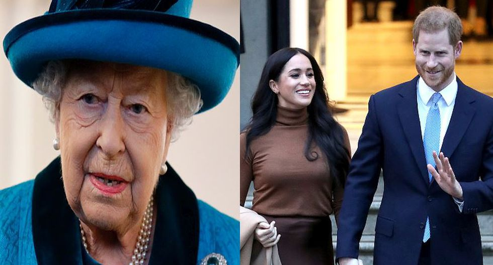 Reina Isabel accede al pedido de Harry y Meghan Markle. (Getty)